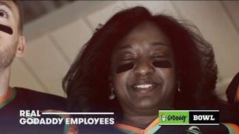 GoDaddy TV Spot, 'GoDaddy Bowl' Featuring Danica Patrick - Thumbnail 6
