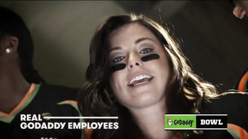 GoDaddy TV Spot, 'GoDaddy Bowl' Featuring Danica Patrick - Thumbnail 7