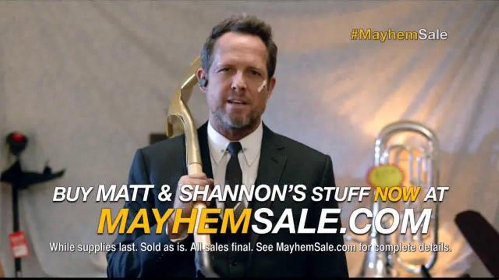 Allstate Tv Commercial Mayhem Sale Oversharing Doesnt Pay