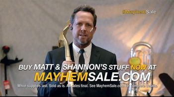 Allstate TV Spot, 'Mayhem Sale: Oversharing Doesn't Pay' - 2 commercial airings
