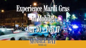 Mobile Bay TV Spot, 'Mardi Gras' - Thumbnail 10