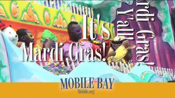 Mobile Bay TV Spot, 'Mardi Gras' - Thumbnail 4
