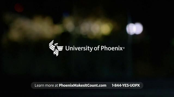 University of Phoenix TV Spot, 'Hard Work Counts Here' - Thumbnail 10