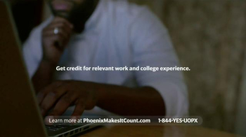 University of Phoenix TV Spot, 'Hard Work Counts Here' - Thumbnail 9