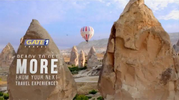 Gate 1 Travel TV Spot, 'Get More from Your Travel Experience' - Thumbnail 1
