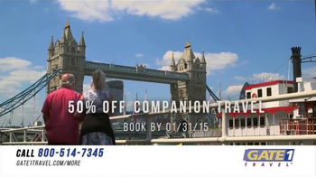 Gate 1 Travel TV Spot, 'Get More from Your Travel Experience' - Thumbnail 7