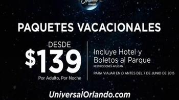 Universal Orlando Resort TV Spot, 'Aventura y adrenalina: paquetes desde $139 dólares' [Spanish] - Thumbnail 6