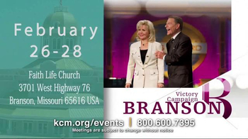 Kenneth Copeland Ministries TV Spot, '2015 KCM Events' - Thumbnail 2