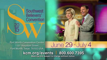 Kenneth Copeland Ministries TV Spot, '2015 KCM Events'