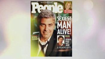 People Magazine TV Spot, 'Sexiest Man Alive' Song by Bruno Mars - 163 commercial airings