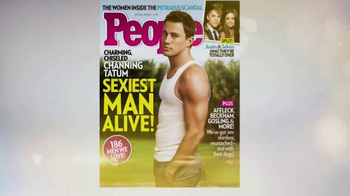 People Magazine TV Spot, 'Sexiest Man Alive' Song by Bruno Mars - Thumbnail 5