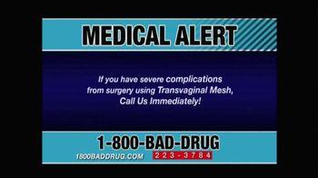 Pulaski & Middleman TV Spot, 'Transvaginal Mesh Failure' - Thumbnail 2