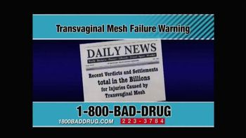 Pulaski & Middleman TV Spot, 'Transvaginal Mesh Failure' - Thumbnail 7