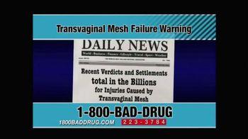 Pulaski & Middleman TV Spot, 'Transvaginal Mesh Failure' - Thumbnail 9