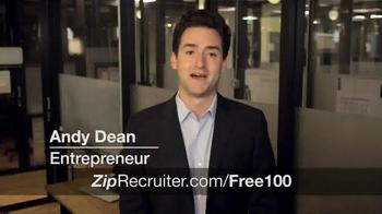ZipRecruiter TV Spot, 'Thousands of Businesses' - Thumbnail 1