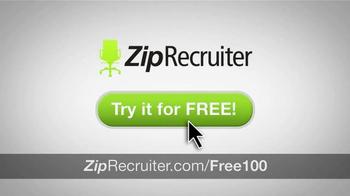 ZipRecruiter TV Spot, 'Thousands of Businesses' - Thumbnail 10