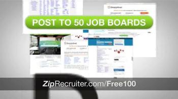 ZipRecruiter TV Spot, 'Thousands of Businesses' - Thumbnail 3