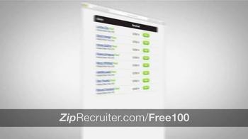 ZipRecruiter TV Spot, 'Thousands of Businesses' - Thumbnail 5