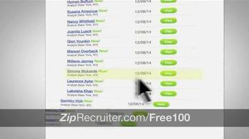ZipRecruiter TV Spot, 'Thousands of Businesses' - Thumbnail 6