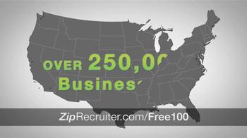 ZipRecruiter TV Spot, 'Thousands of Businesses' - Thumbnail 7