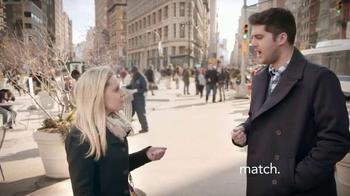 Match.com TV Spot, 'Match on the Street: Place to Meet Men' - Thumbnail 1