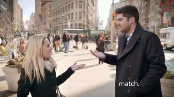 Match.com TV Spot, 'Match on the Street: Place to Meet Men' - Thumbnail 2