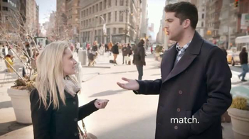 Match.com TV Spot, 'Match on the Street: Place to Meet Men'