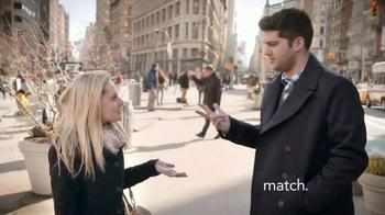 Match.com TV Spot, 'Match on the Street: Place to Meet Men' - Thumbnail 4