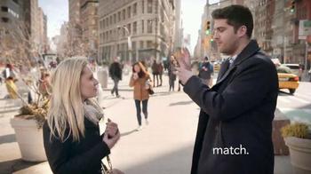Match.com TV Spot, 'Match on the Street: Place to Meet Men' - Thumbnail 5