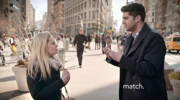 Match.com TV Spot, 'Match on the Street: Place to Meet Men' - Thumbnail 7