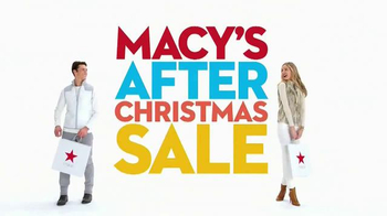 Macy's After Christmas Sale TV Spot, 'Storewide Savings' - Thumbnail 10
