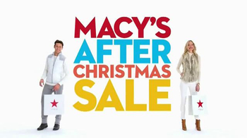 Macy's After Christmas Sale TV Spot, 'Storewide Savings'