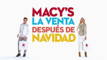 Macy's La Venta Después de Navidad TV Spot, 'Incluso Más Ahorros' [Spanish] - Thumbnail 2