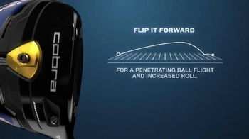 Cobra Golf Fly-Z+ Driver TV Spot, 'Flip It & Rip It'