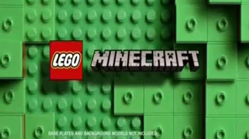 LEGO Minecraft TV Spot, 'Brand New Awesome Sets' - Thumbnail 1