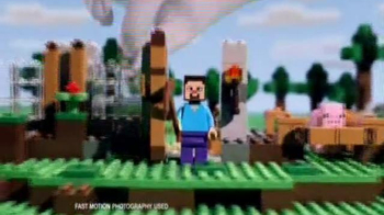 LEGO Minecraft TV Spot, 'Brand New Awesome Sets'