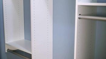 EasyClosets.com Home Organization Event TV Spot, 'Do-It-Yourself Closet' - Thumbnail 3