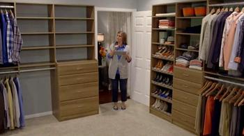 EasyClosets.com Home Organization Event TV Spot, 'Do-It-Yourself Closet' - Thumbnail 6