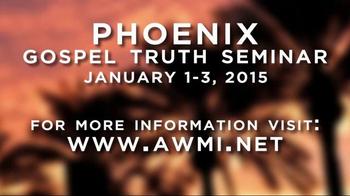 Andrew Wommack Ministries TV Spot, '2015 Phoenix Gospel Truth Seminar' - Thumbnail 9