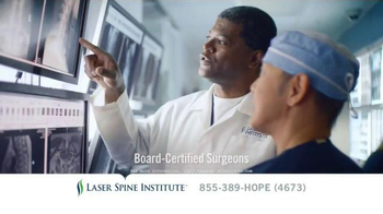 Laser Spine Institute TV Spot, \'Don\'t Put It Off\'