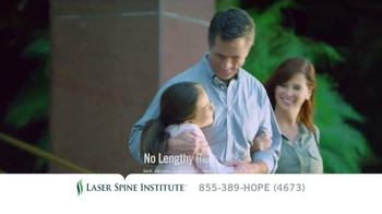 Laser Spine Institute TV Spot, 'Don't Put It Off' - Thumbnail 5