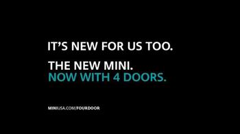MINI USA TV Spot, 'It's New for Us, Too' - Thumbnail 10