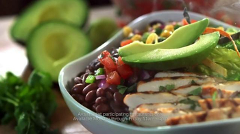 Chili's Fresh Mex Bowls TV Spot, 'Lunch Combo Menu' Song by Oh Honey - Thumbnail 5