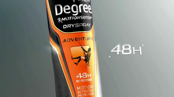 Degree Men Dry Spray TV Spot, 'In a Snap' - Thumbnail 3