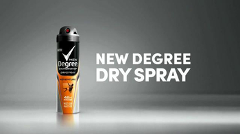Degree Men Dry Spray TV Spot, 'In a Snap' - Thumbnail 7