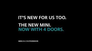 2015 MINI USA Hardtop Four-Door TV Spot, 'Four Door Surprise' - Thumbnail 9