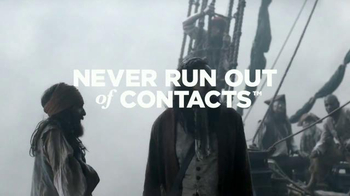 1-800 Contacts TV Spot, 'Pirate Plank' - Thumbnail 9