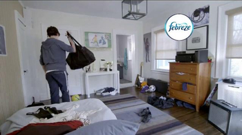 Febreze Air Freshener TV Spot, 'Nose Blind: Locker Room' - Thumbnail 1