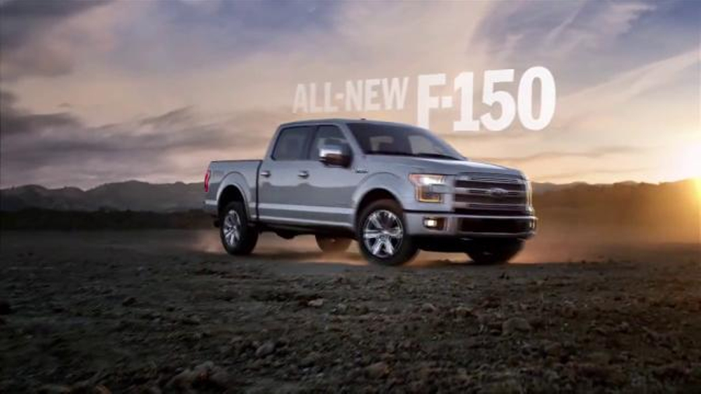 2015 Ford F 150 Tv Commercial Introducing The All New