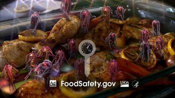 FoodSafety.gov TV Spot, 'Funky Chicken' - Thumbnail 10